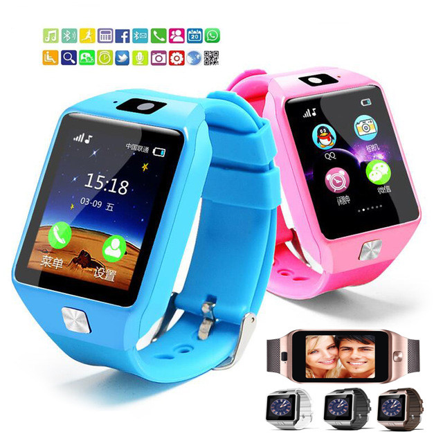 Fashion DZ09 Smart Watch Support SIM TF Cards For Android IOS Phone Ch