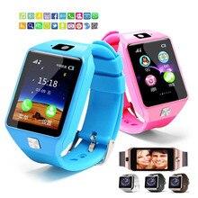 Модные dz09 Смарт-часы Поддержка SIM TF карты для Android IOS Телефон детей Камера Для женщин Bluetooth часы с розничной коробке россия