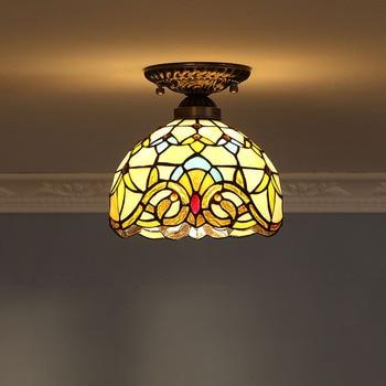 Yi Xuan Europäischen Barock Warme Yang Lampe Retro Kaffee Shop Gang Lichter Halle Decke Lampen Lampe