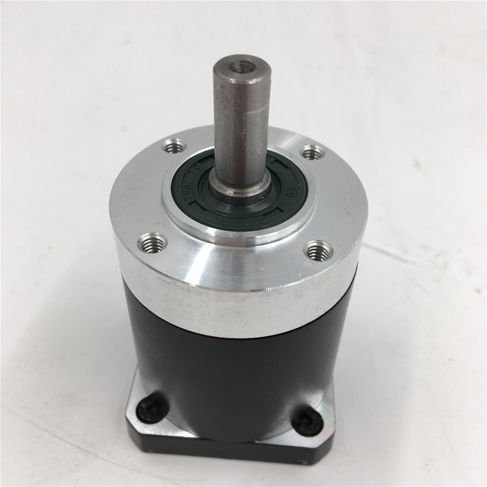 Nema 17 Stepper Motor Planetary Gearbox Reducer Ratio 5:1 L41mm Shaft D8mm for Flange 42mm Stepper Motor CNC Machining Center ratio 5 1 planetary gear nema 23 stepper motor with gearbox reducer motor l76mm 3a 1 8nm for cnc engraving milling
