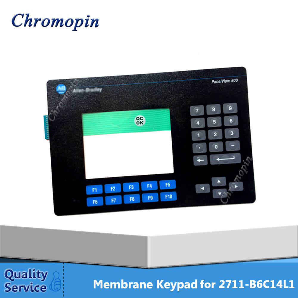 Membrane keypad switch for AB 2711-B64C1L1 2711-K6C14L1 2711-B6C12L1 2711-K6C12L1 PanelView Standard 600 Color Membrane keypoard new membrane keypad for panelview 600 2711 b6 2711 b6c1 2711 b6c2 2711 b6c3 2711 b6c5 2711 b6c8 2711 b6c9 freeship1year warranty