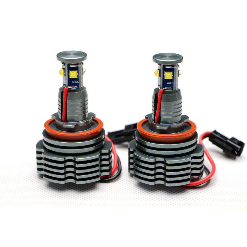 где купить New arrival 32W LED Angel Eyes Marker Upgraded Bulbs H8 12V Xenon White for BMW E87 E82 E92 E93 E70 E71 E90 E91 E60 E61 дешево