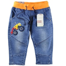 2016 Fashion Boys Jeans Casual Kids Pants Children's Jean Trousers Jeans for boys