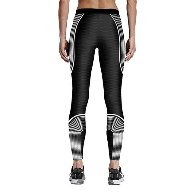 Women Fitness Gym Leggings New Winter Autumn Line Slim Yoga Pants Girls USA Style Jogging Running Eerxcise Trousers Ropa Mujer