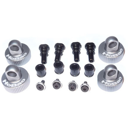 OFNA HOBAO RACING 89130 One Piece Shock Cap Set Metal shock caps Free Shipping