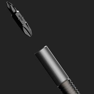 Image 3 - Youpin Wiha 26 In 1 Schroevendraaier Kit Met Verborgen Tijdschrift Ontwerp Precisie Chroom Vanadium Staal Dual end Bits