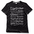 Skull Kawaii Tops List Of Spells Expelliarmus Summer T-shirt Daddy Tumblr Dino Anime Shirts Man Tie Dye Unicorn T Shirt Mens