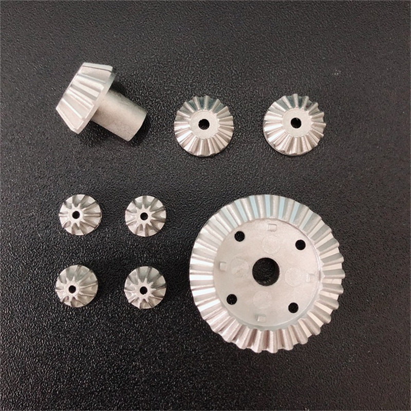 High Quality 2 Set 16pcs Upgrade Metal Gear For Wltoys 12428-A 12428-B 12428-C /12423 Rc Car Parts front diff gear differential gear for wltoys 12428 12423 1 12 rc car spare parts