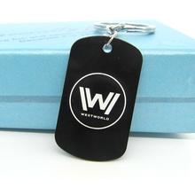 Very Snappy Westworld Black Keychains