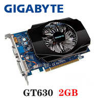GIGABYTE Scheda Video Originale GT630 2GB 2G 128Bit GDDR3 Schede Grafiche per nVIDIA SCHEDA VGA Geforce GT 630 hdmi Dvi Utilizzato In Vendita