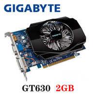 GIGABYTE Video Card Original GT630 2GB 2G 128Bit GDDR3 Graphics Cards for nVIDIA VGA Cards Geforce GT 630 Hdmi Dvi Used On Sale