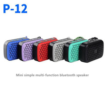 P12 Portable Speaker Wireless Bluetooth Speakers Support TF Card FM Radio