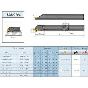 Image 4 - 4 stücke 10mm Schaft Drehmaschine Bohren Bar Drehen Werkzeug Halter S10k SDUCR07/SDJCR1010H07/SDJCL1010H07/SDNCN1010H07