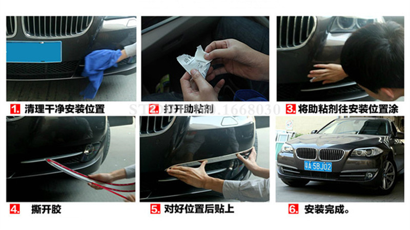BMW 5 Series GT F07 2010-2015 2pcs üçün xarici ön duman işıq - Avtomobil daxili aksesuarları - Fotoqrafiya 6
