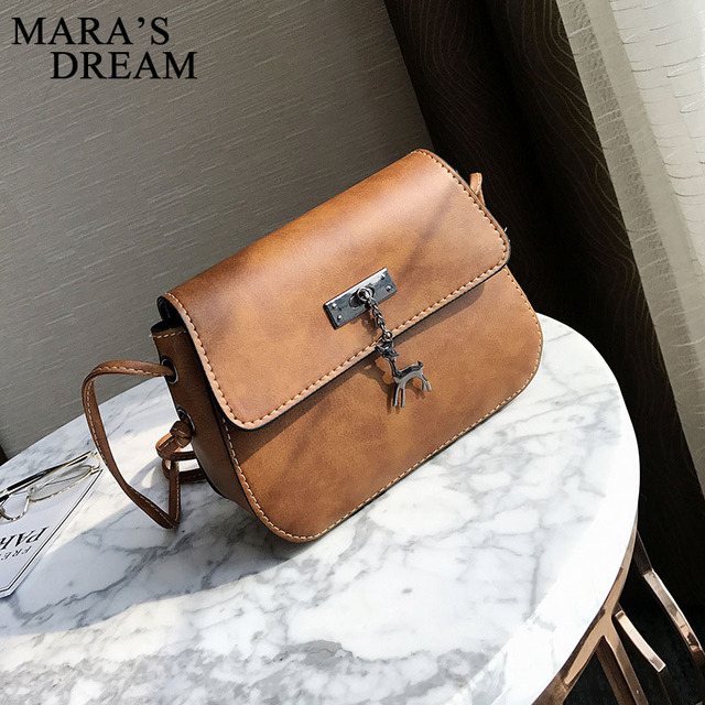 Mara's Dream Shell Women Messenger Bags High Quality Cross Body Bag PU Leather Mini Female Shoulder Bag Handbags Bolsas Feminina 1