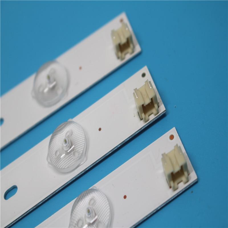 Kit 3 PCS 6LEDs 627mm LED Backlight Strip For Toshiba 32