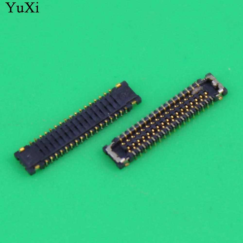 YuXi LCD display screen FPC connector for Xiaomi Mi 4 M4 Mi4 logic on motherboard mainboard