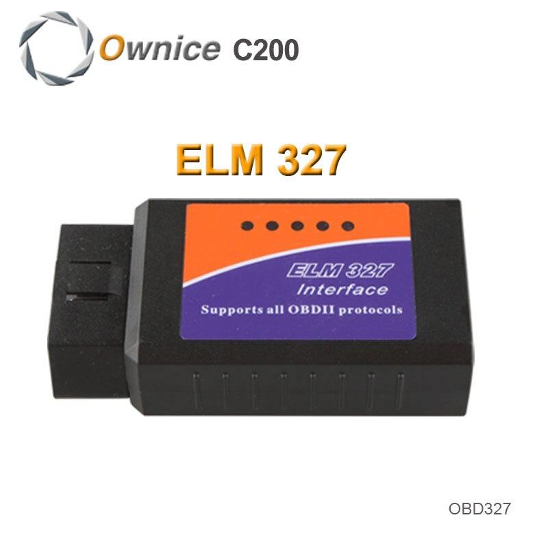 Seulement pour Ownice DVD de Voiture 2015 Nouveau ELM327 USB ELM 327 OBD2/OBDII V1.5 Auto Diagnostic Interface Scanner Code lecteur