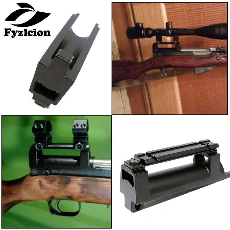 Hunting SKS Top Receiver Cover With High-profile See-Thru Rail Weaver / Tactical 20 MM Scope Mount SKS Steel Picatinny Rail Moun