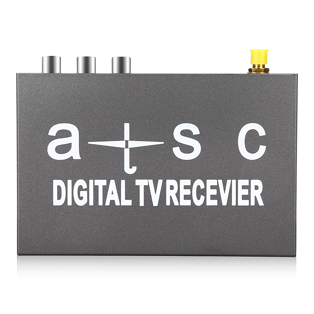 T858 Car HD / SD ATSC Mobile Digital TV Strong Signal Box Easy to install Receiver High Speed with Antenna Remote Control 5m sd 6655 dvi digital hd signal cable
