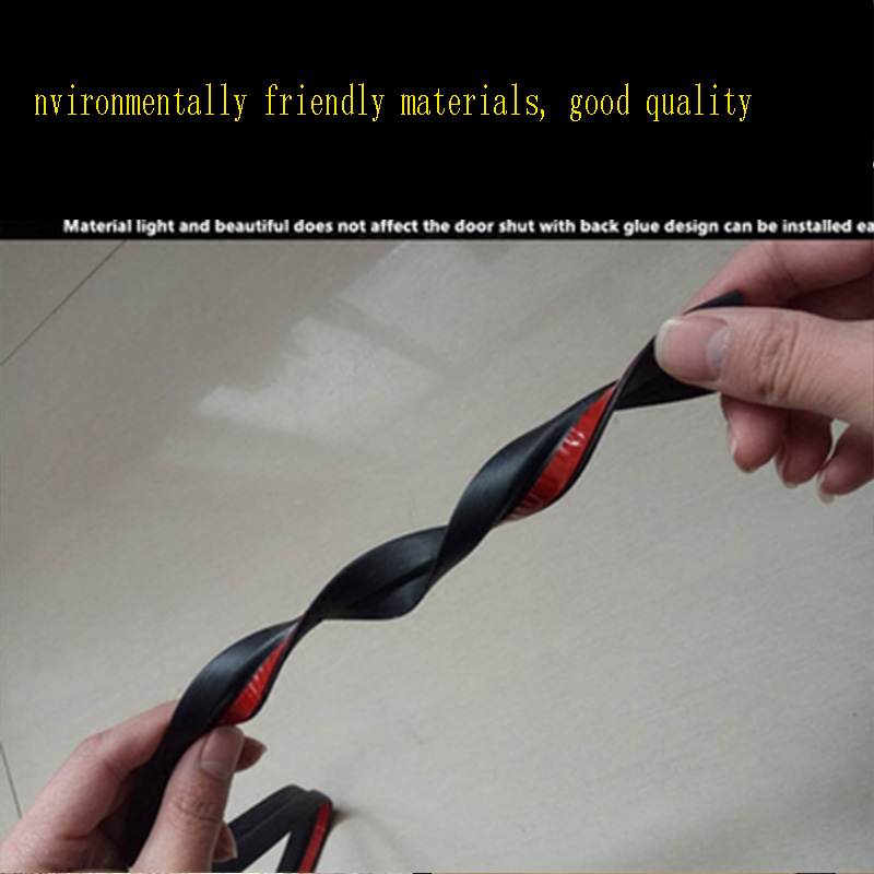1 5M Rubber Car Sticker Trunk Bumper Sound Sealing Strip For Peugeot 307 206 308 407 207 2008 3008 508 406 208 Mazda 3 6 2 CX 5 in Car Stickers from Automobiles Motorcycles