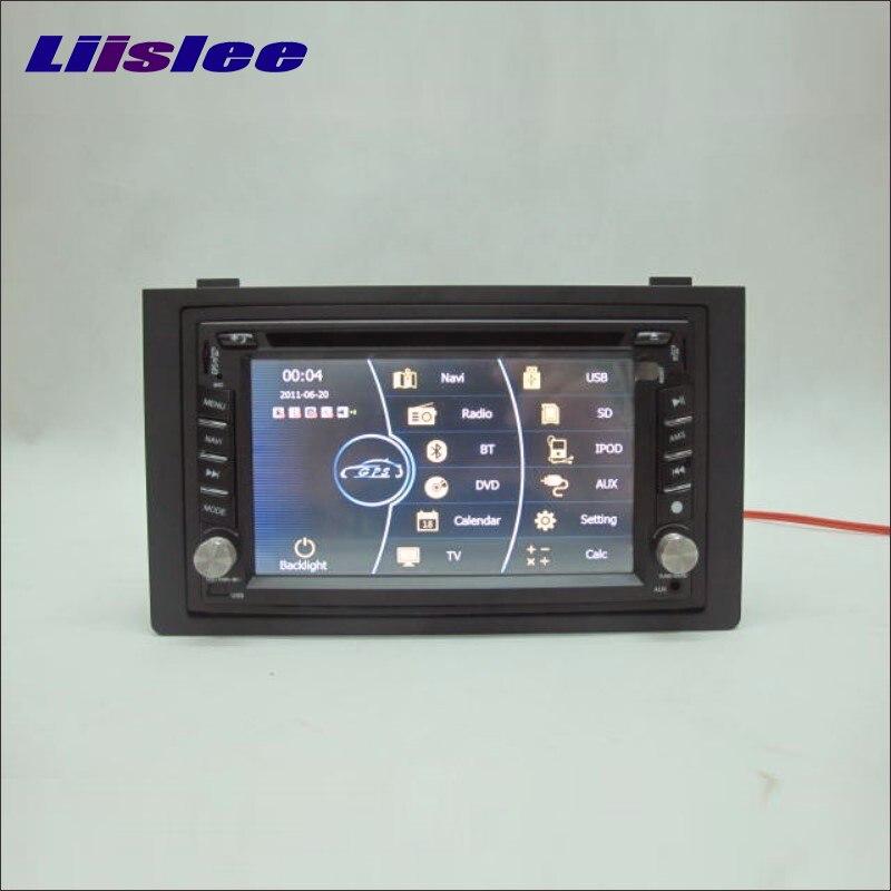 Liislee pour SAAB 9-3 2006 ~ 2012 lecteur Radio CD DVD stéréo et GPS Nav Navi système de Navigation Double Din ensemble d'installation Audio de voiture