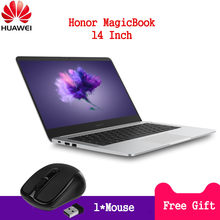 HUAWEI Honor MagicBook Laptop 14'' 16:9 Full HD Windows 10 Pro AMD Ryzen 5 2500U Quad Core 8GB DDR4 256GB SSD Notebook HDMI(China)