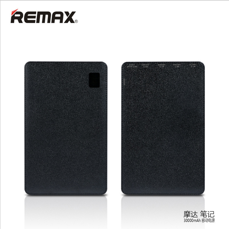 REMAX 30000 mAh Portable Power Bank Chargeur Externe Batterie Power Bank 4 USB Chargeur Portable Universel