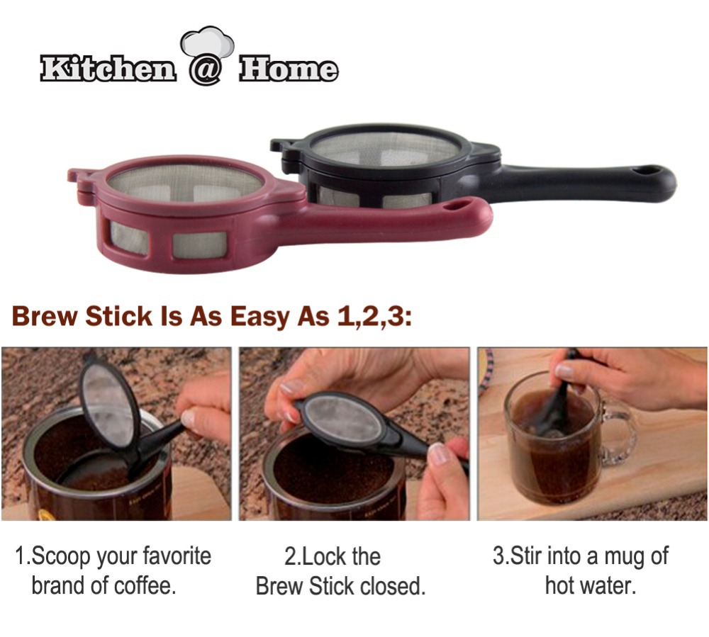 2 pcsset coffee tea infuser filter baskets mesh spoon bpa free coffee maker kitchen bar tools gadget kk018in coffee filter baskets from home u0026 garden on