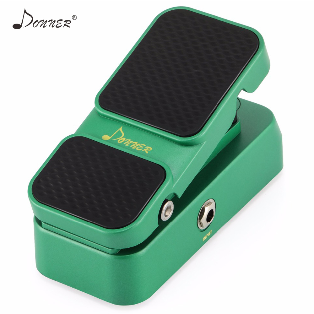 Donner 2 In 1 Passive Volume Expression Guitar Effect Pedal Analog Circuit Design Mini Guitar Bass Pedals Parts AccessoriesDonner 2 In 1 Passive Volume Expression Guitar Effect Pedal Analog Circuit Design Mini Guitar Bass Pedals Parts Accessories