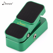 Donner 2 In 1 Passive Volume Expression Guitar Effect Pedal Analog Circuit Design Mini Bass Pedals Parts Accessories