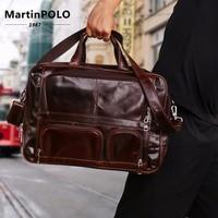 Фирменная Дорожная сумка из натуральной кожи, многофункциональная сумка для выходных, большая дорожная сумка, сумка тоут, деловая Мужская Д