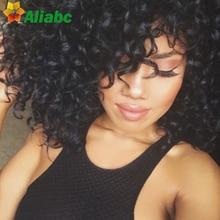 8a Unprocessed Virgin Peruvian Deep Hair With Closure Stema Hair Sunny Queen Hair With Closure 4 Bundles Virgin Hair Deals
