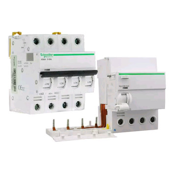 Schneider circuit breakers A9 IC65N 4P25A fifth generation home small air switch