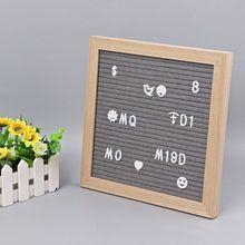 Буквенная доска набор букв 230 цифр специальные символы слова для войлока Сменные знаки сообщений и буквенные доски
