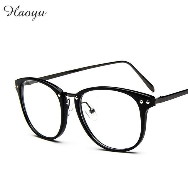 0193969c6e9 haoyu 2016 NEW Fashion Optical Glasses Frame Glasses men and women myopia  reading eye glasses frames