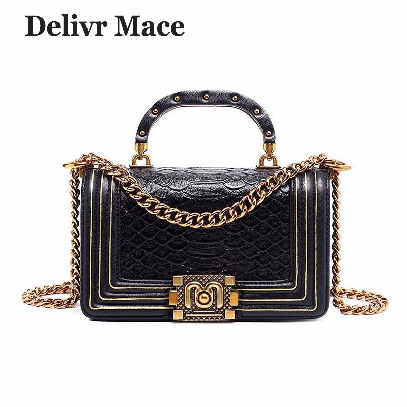 Bags For Women 2018 Famous Brand Serpentine Split Leather Ladies Hand Bag Women Cross Body Bag Sac A Main Female Shoulder Bags shyojo new famous brand women s single shoulder bag chain shoulder bag ladies handbag with 6 candy color clutch cross body bags