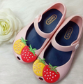 2016 Popular Baby Girl Shoes Brand Funny Cartoon Children  Sandals Lovely Shoes for Girls Spring Princess Shoes For Girls 2016