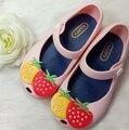 2016 Populares Do Bebê Menina Sapatos Da Marca Engraçado Dos Desenhos Animados Crianças Sandálias Sapatos Bonitos para Meninas Primavera Princesa Calçados Para Meninas 2016
