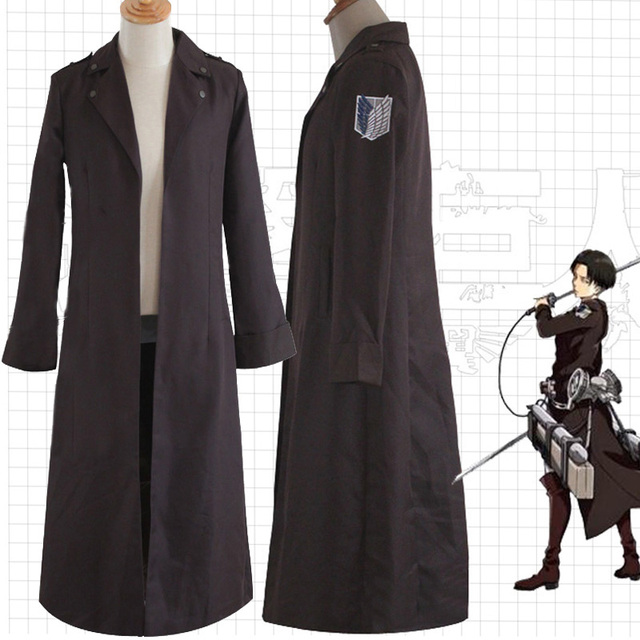 Anime Attack on Titan Cloak Cosplay Costume Eren Jaeger