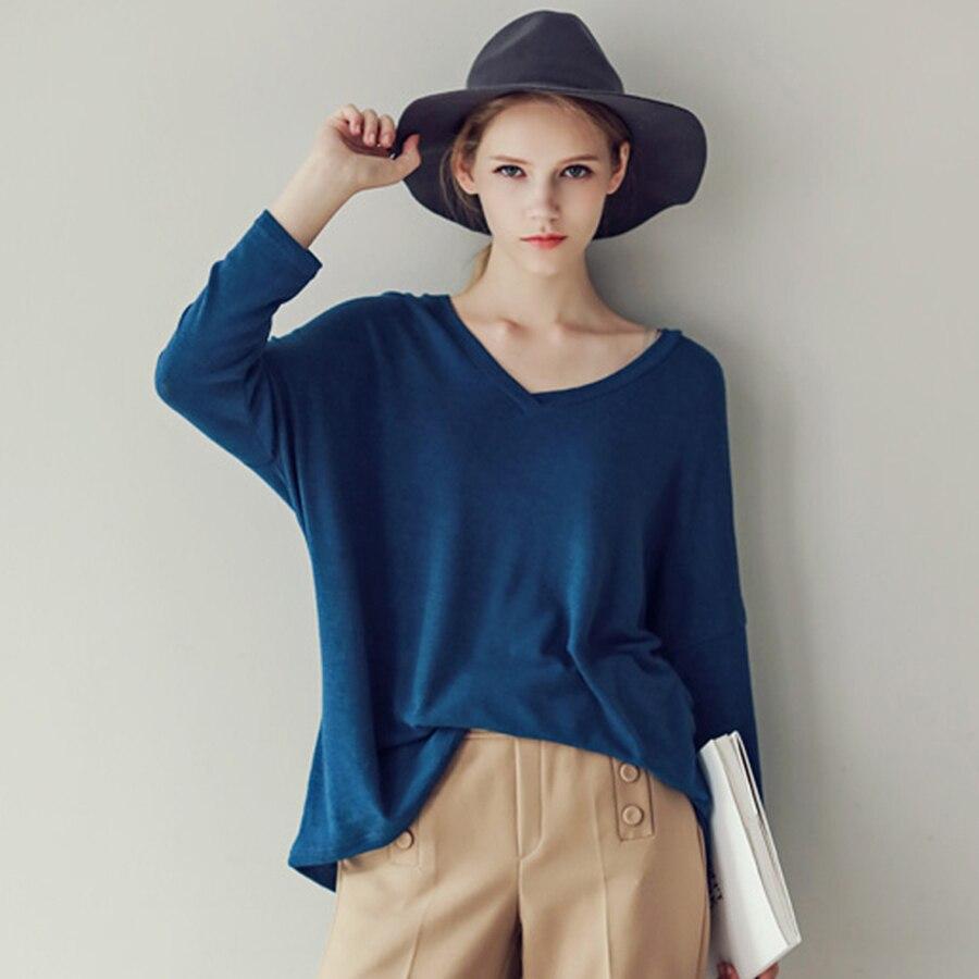 Plus Size Women t Shirt Long Sleeve Casual Vintage ...