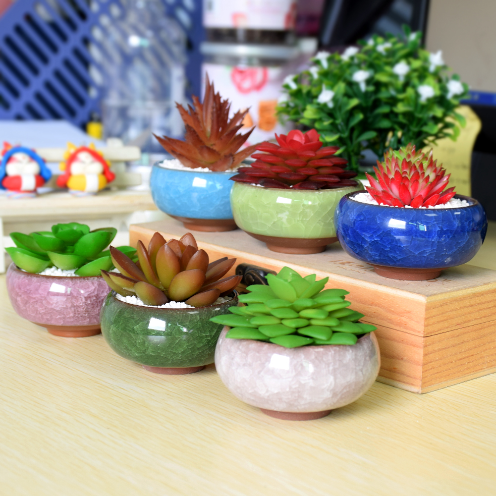 Decorative Hanging Planters for Succulents Plant Stand Balcony ...