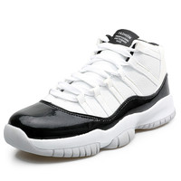 2018 New Original Basketball Shoes for Men Sneakers Breathable Retro Shoes outdoor Sport Walking Shoes Jordan 11 Plus Size 39 45