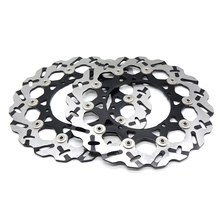 цена на 310mm CNC Motorcycle Stainles Steel Front Floating Brake Disc Rotor For Yamaha YZF 600 R6 2007-2012 YZF1000 R1 2007-2013 2010