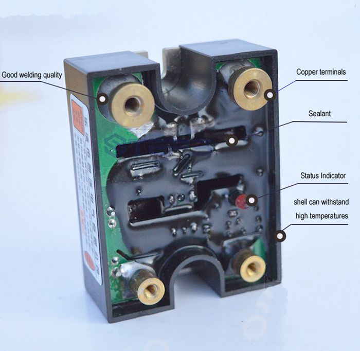 SSR DC solid state relay 120A DC to DC non contact switch relayin