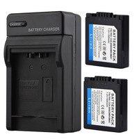 2x1500 mAH CGA-S006E S006E Batterie + Ladegerät Für Panasonic Lumix DMC-FZ7 FZ8 FZ18 FZ35 FZ28 FZ38 FZ30 Kamera ersatz Batterien