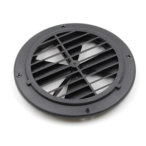 Image 5 - 1 Pcs 6.5 Inch Round Louvered Vent For RV Motorhome Boat Ventilation Parts UV Protection 0.7 Inch Thickness PP Plastic