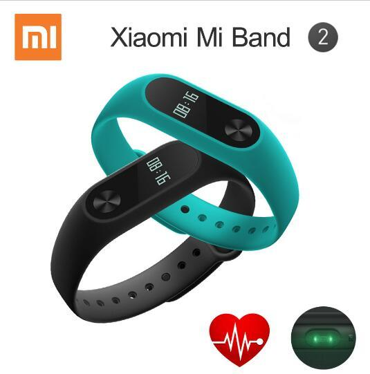 Original Xiaomi Mi Band 2 Smart Bracelet Wristband Miband 2 Fitness Tracker Android Bracelet Smartband Heart rate Monitor