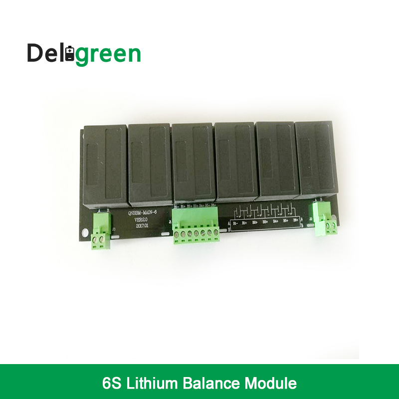 QNBBM 6S Active Battery Equalizer BMS Balancer for LIFEPO4 LTO Polymer LMO LI NCM LI ion