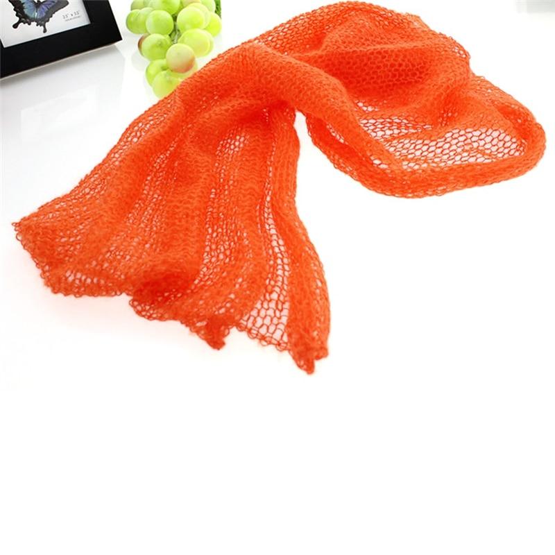 Новорожденный ребенок мохер одеяла Обёрточная бумага с повязкой на голову для девочек вязание крючком костюм младенческой Подставки для фотографий фото одеяла мохер